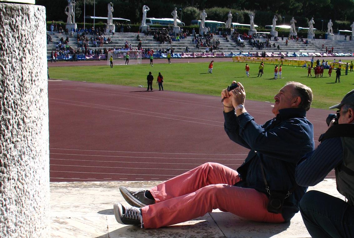 Lo Stadio dei Marmi - Augusto De Luca