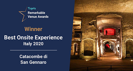 Tiqets Remarkable Venue Awards Catacombe di San Gennaro
