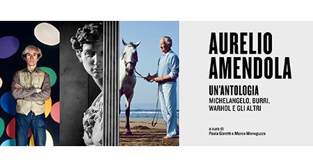 'Aurelio Amendola. Un'antologia. Michelangelo, Burri, Warhol e gli altri'