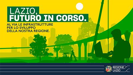 'Cantieri nel Lazio - Investimenti per la ripresa'