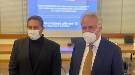Giovanni Toti ed Eugenio Giani