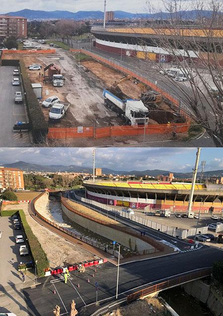Livorno, Rio Maggiore: inaugurato il primo lotto di lavori