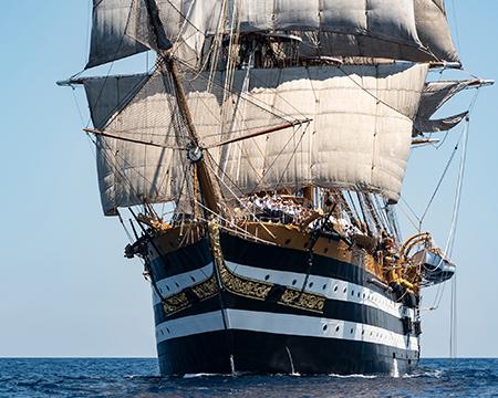 Nave Amerigo Vespucci - ph Marina Militare