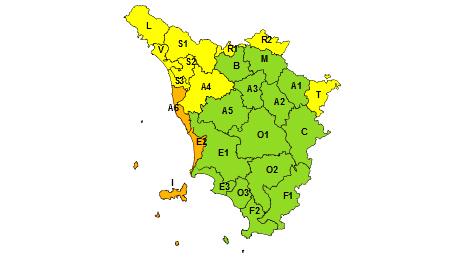 Regione Toscana codice arancione 8 febbraio 2021