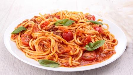 Spaghetti al sugo rustico