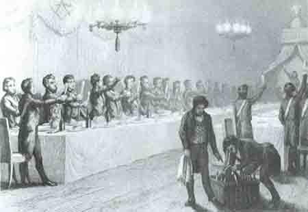 La cena mistica del XVII Principe di Rosa Croce