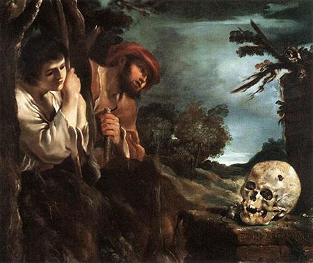 Et in Arcadia Ego - Guercino