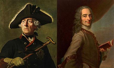 Federico II di Prussia e Voltaire