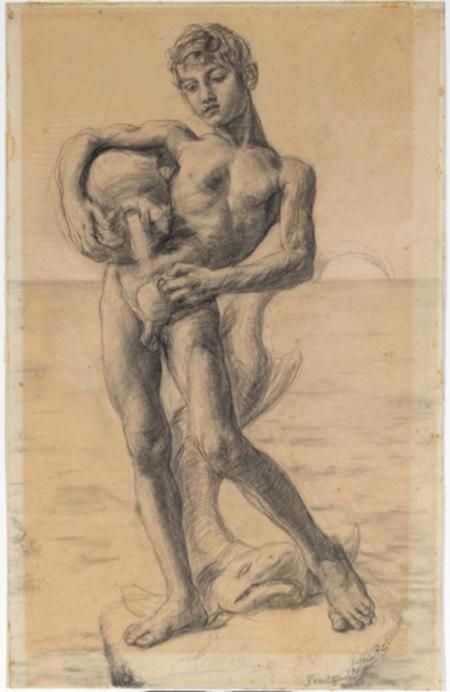 'La sorgente' - Vincenzo Gemito