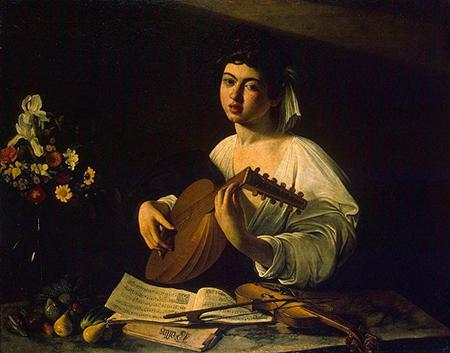 Michelangelo Merisi da Caravaggio - Suonatore di liuto