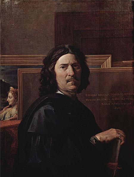 Nicolas Poussin - Autoritratto