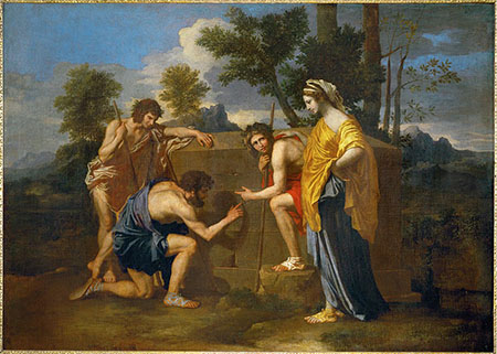 'Pastori d'Arcadia' - Nicolas Poussin