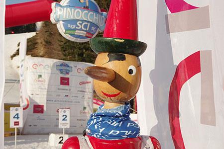 'Pinocchio sugli sci'