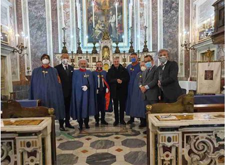 SMOCSG: commemorazione San Giuseppe nella Cappella Magistrale a Napoli