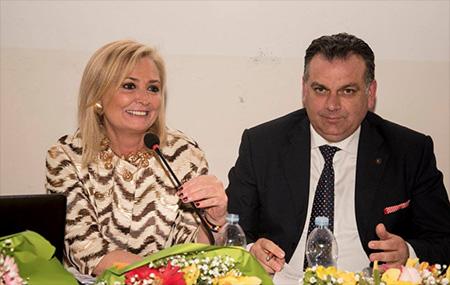 Virginia Ciaravolo e Antonio Grilletto