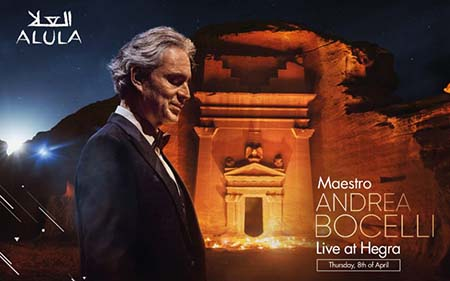 Andrea Bocelli a Hegra