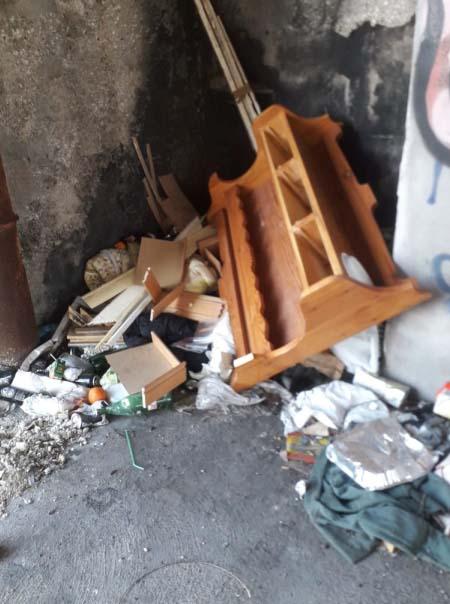 Bonifica aree degradate in piazza Capodichino a Napoli