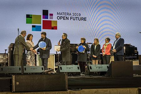 Cerimonia di chiusura Matera 2019