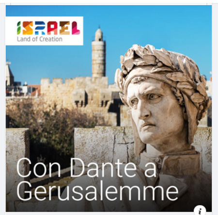 Con Dante a Gerusalemme 2021
