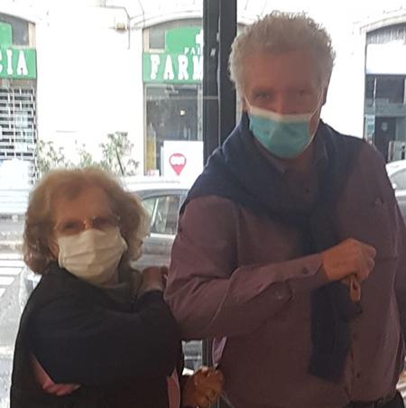 Luisa Lomazzi e Cesare Marinoni