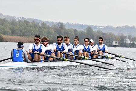 Marina Militare Otto Campionati Europei di Canottaggio di Varese - ph Mimmo Perna