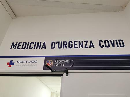 Medicina d'Urgenza Covid ad Anzio (RM)