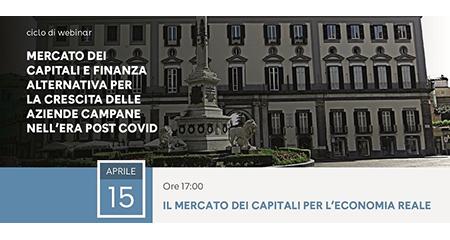 'Mercato dei capitali e finanza alternativa per la crescita delle aziende campane nell'era post Covid'