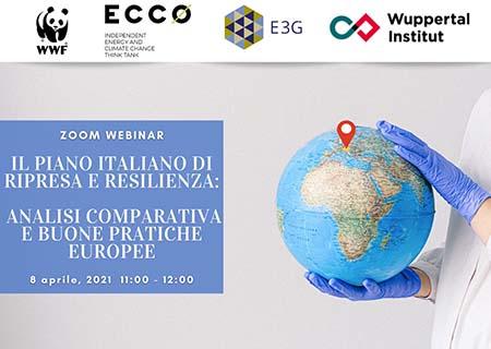 Il Piano italiano di Ripresa e Resilienza. Analisi comparata e buone pratiche europee