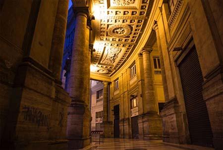 Porticato Galleria Umberto Napoli