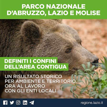 Regione Lazio istituisce Area Contigua PNALM