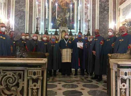 SMOCSG Delegazione Napoli e Campania onora San Giorgio Megalomartire