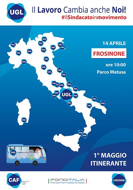 Tour UGL Frosinone