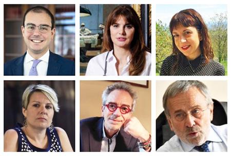 Amitrano, Baldini, Covolo, Longoni, Chiappuella e Moretto