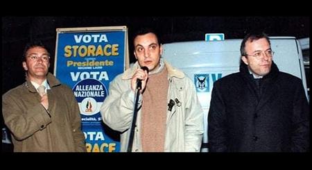 Angelo Sorcecchi e Francesco Storace