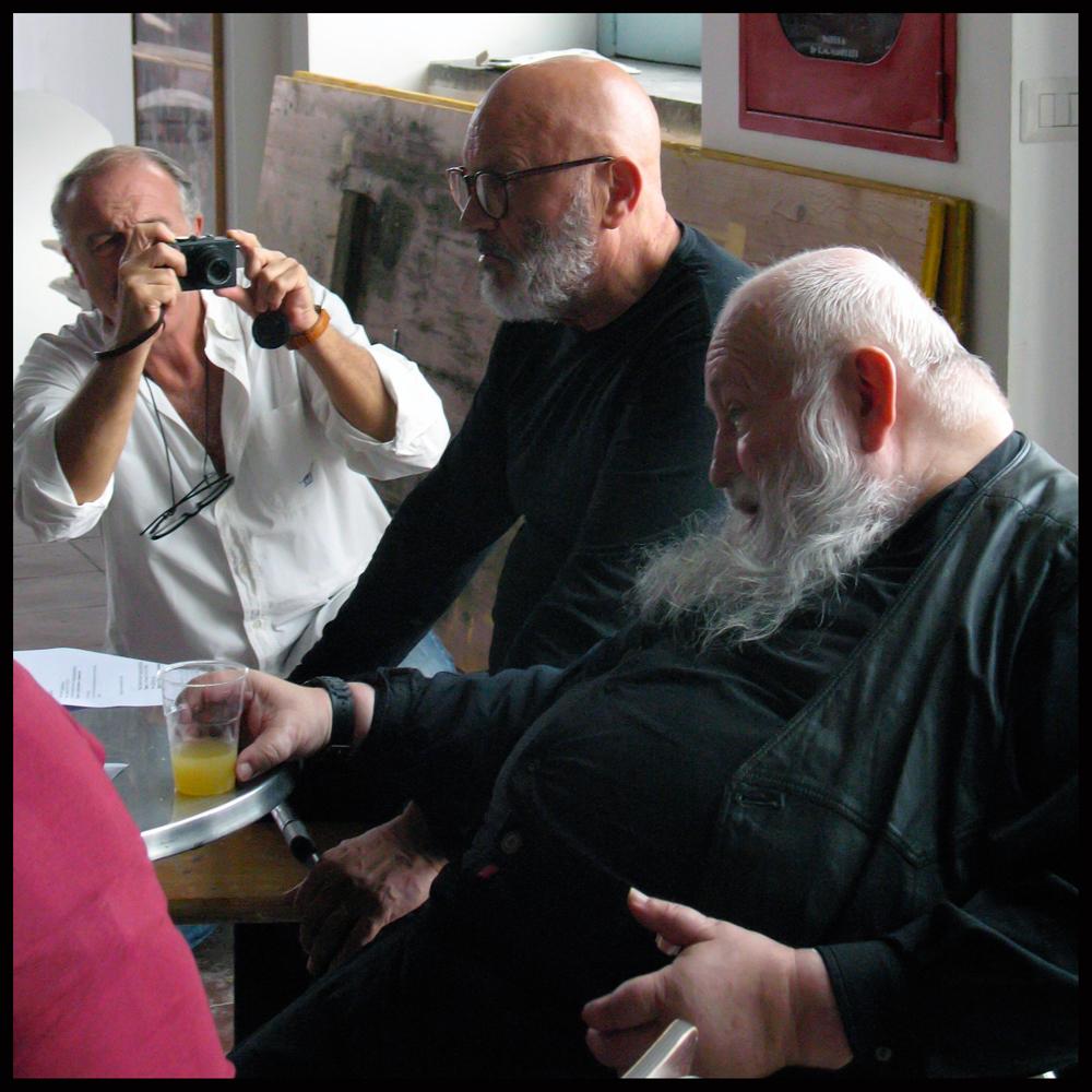 Augusto De Luca, Peppe Morra, Hermann Nitsch