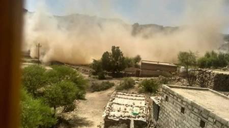 casa distrutta houthi