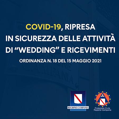 Covid-19 Campania, Ordinanza n.18 del 15 maggio 2021