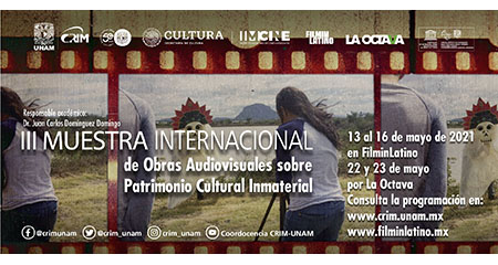 III Muestra Internacional de Obras Audiovisuales sobre Patrimonio Cultural Inmaterial