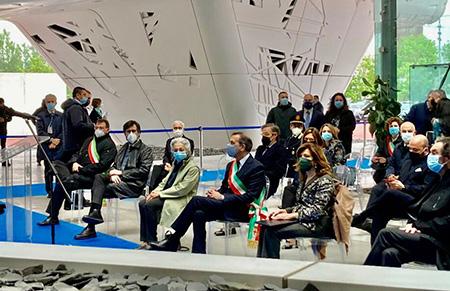 Inaugurata nuova toponomastica area Mind EXPO 2015 Milano