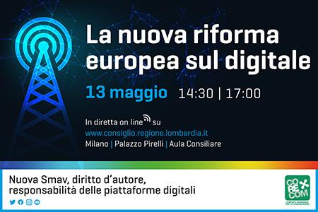 La nuova riforma europea sul digitale