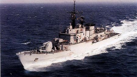 Nave Libeccio - ph Marina Militare