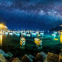 Castello Aragonese di sera all'Ischia Film Festival