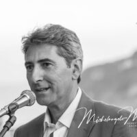 il Direttore dell'Ischia Film Festival Michelangelo Messina