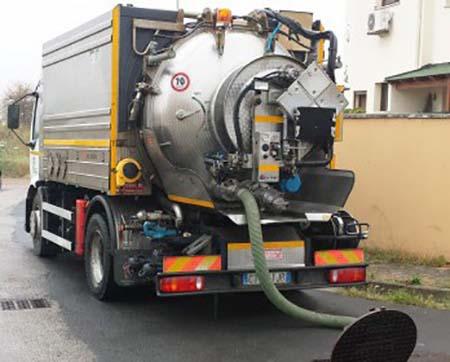 Autospurgo rifiuti liquidi