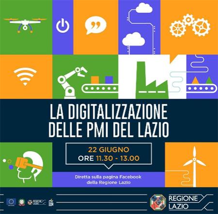 La Digitalizzazione delle PMI del Lazio
