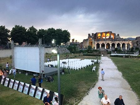 'Grande schermo restart' all'Arena Spartacus Festival