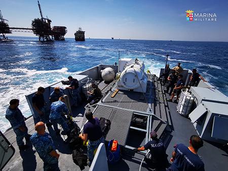 Marina Militare e MiTE insieme per i controlli ambientali marini