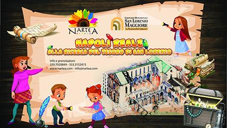 'Napoli reale. Alla ricerca del tesoro di San Lorenzo'
