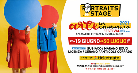 'Portraits on stage - Arte in Cammino 2021'