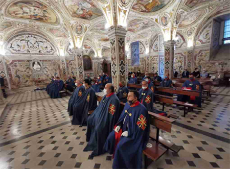 SMOCSG, Delegazione Napoli e Campania: pellegrinaggio nel Duomo Salerno